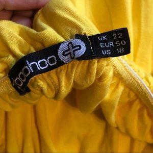 Boohoo Plus Tops - Boohoo Plus off the shoulder ruffle top